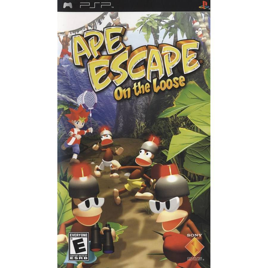 Ape Escape: On the Loose (PSP)