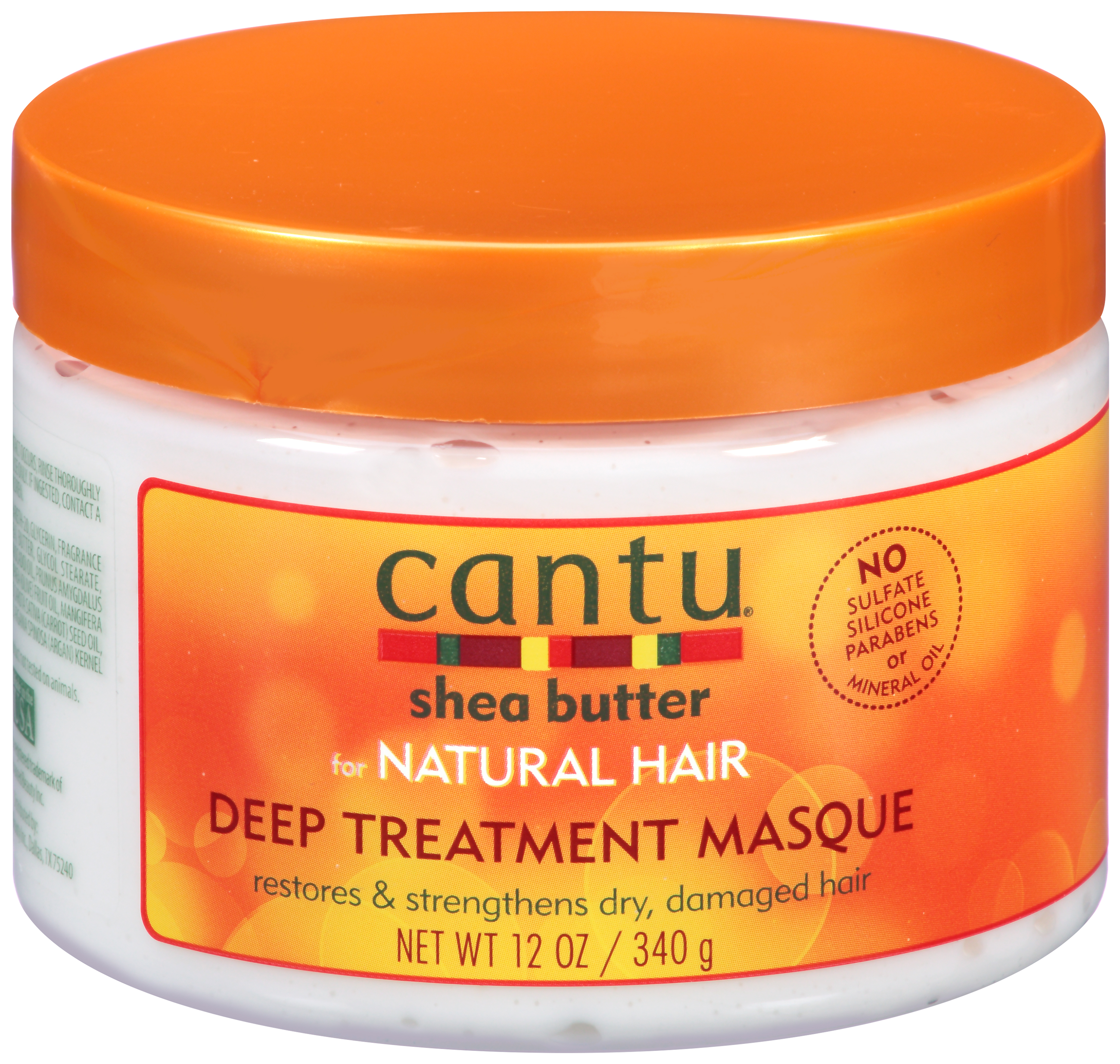 Cantu® Shea Butter for Natural Hair Deep Treatment Masque 12 oz. Jar