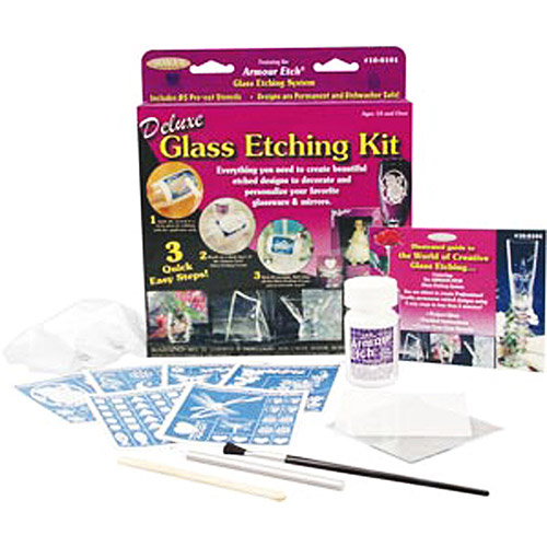 Deluxe Glass Etching Kit