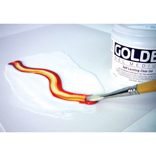Golden Artist Colors Self Leveling Clear Gel