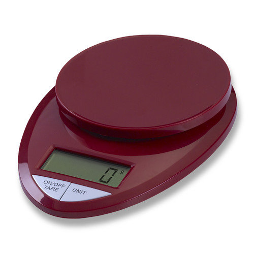 EatSmart Precision Pro in Digital Kitchen Scale in Red