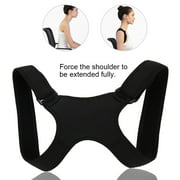 HURRISE Back Shoulder Posture Correction Band Humpback Back Pain Relief Corrector Brace, Posture Correction, Back Posture Correction