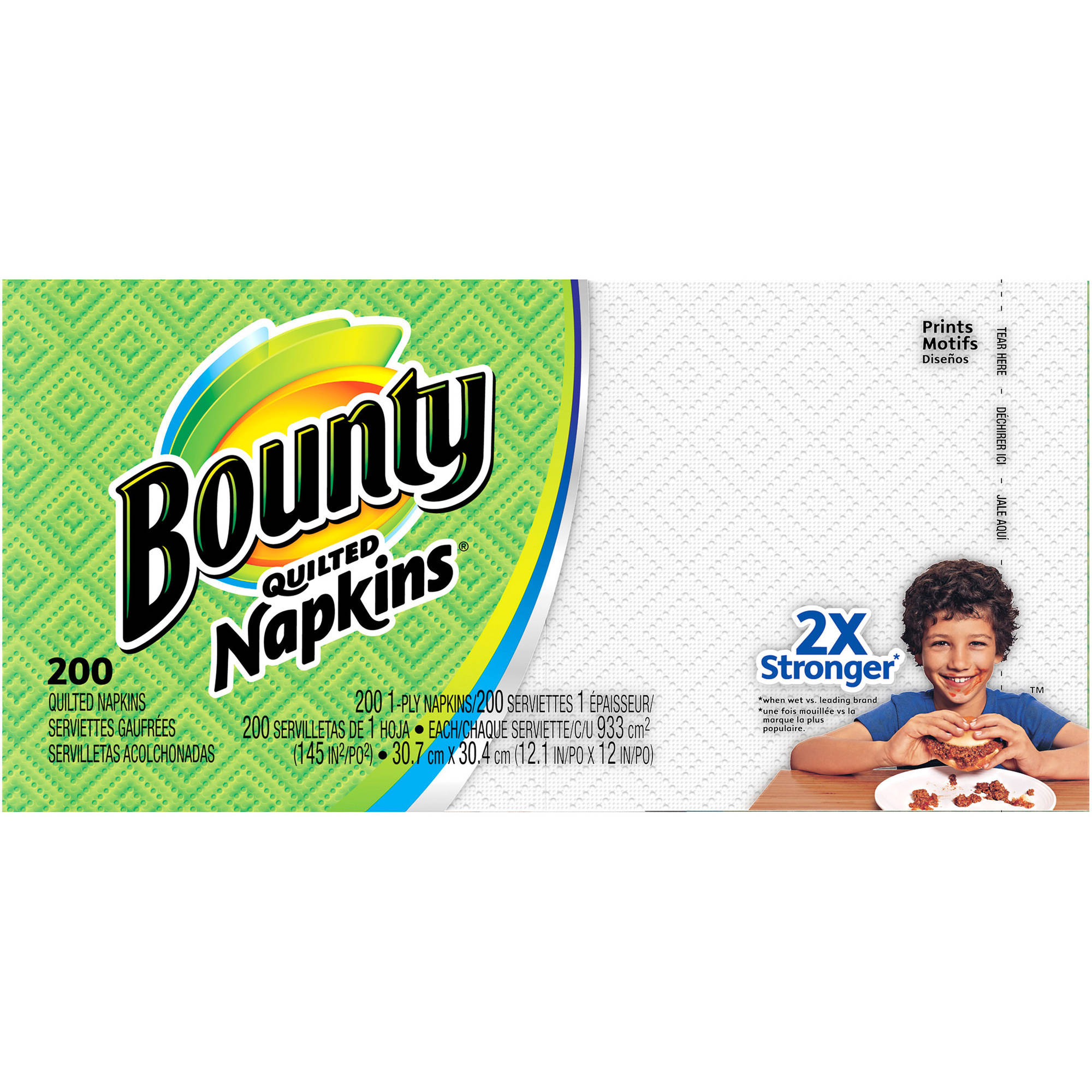Bounty Quilted Napkins, 200 ct