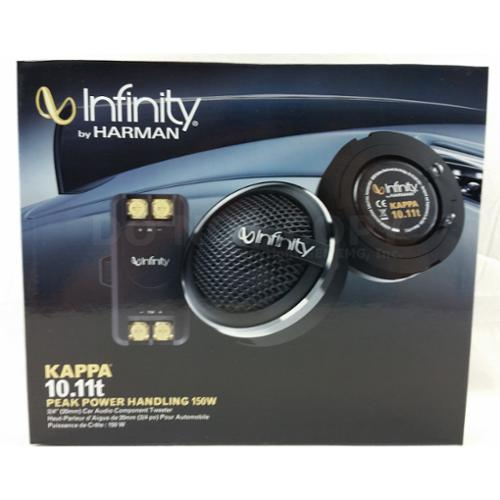 "Infinity KAPPA 10.11t 3/4"" Soft Dome Tweeters w/ Crossovers  3/4"" Tweeter"