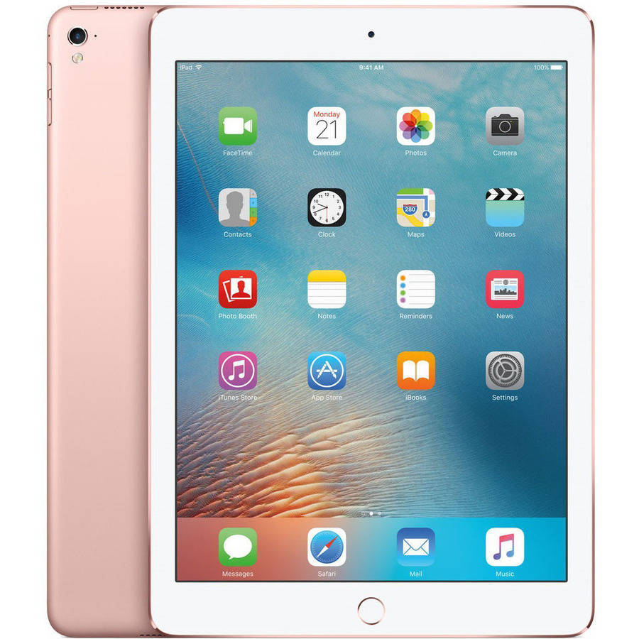 Apple iPad Pro 9.7 32GB Wi-Fi Dual-Core Tablet w/ 12MP Camera - Rose Gold (Certified Refurbished)