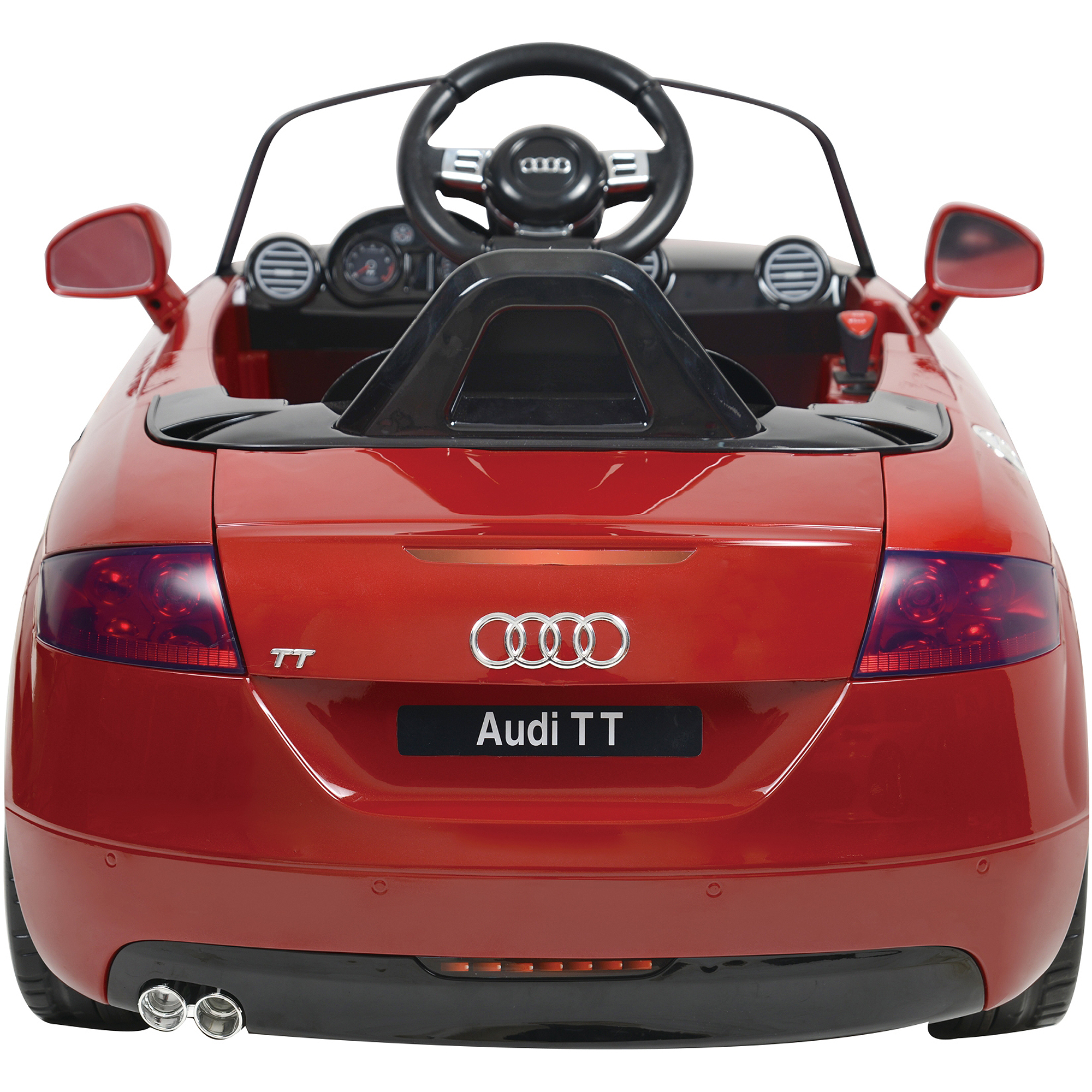 Kalee Audi TT 12-Volt Battery-Powered Ride-On, Red