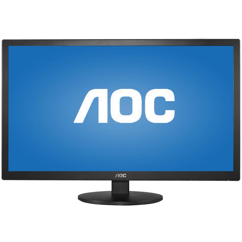 "AOC Monitor 27"" Full HD 1920x1080 Fast 2ms VGA HDMIx2 E2770SHE"