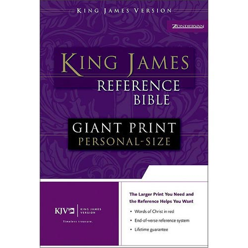 Holy Bible: King James Version, Reference Personal-Size Bonded Leather