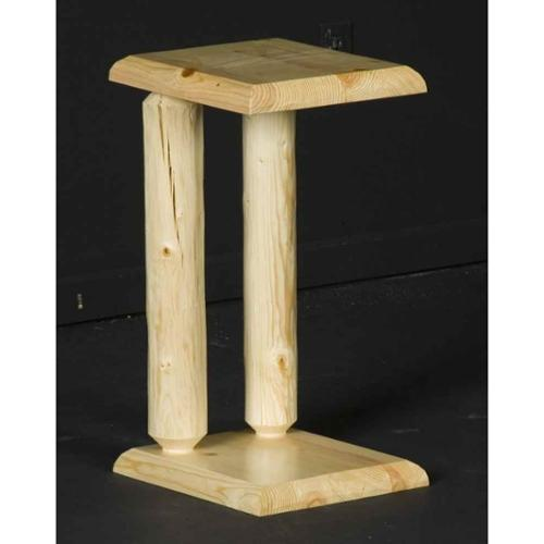 Northern Exposure Log Sofa Server (Honey Pine)
