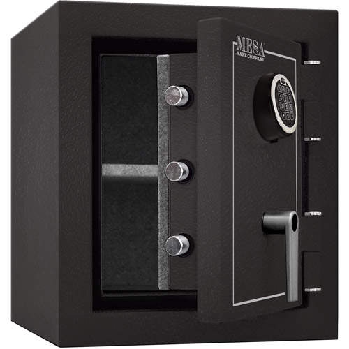 Mesa Safe MBF1512E Fire Resistant Security Safe with Electronic Lock, Hammered Grey