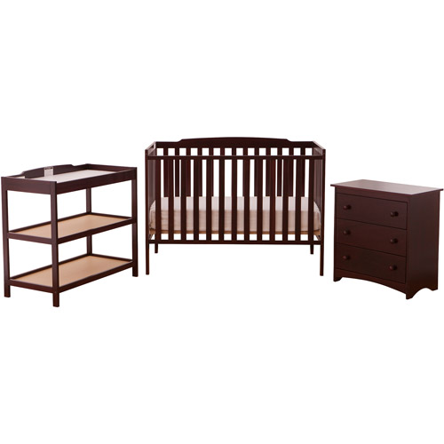 Storkcraft Turin Nursery in A Box, Cherry