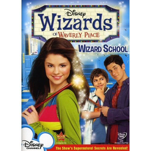 WIZARDS OF WAVERLY PLACE-V01-WIZARD SCHOOL (DVD/FF 1.33/ENG-SUB)