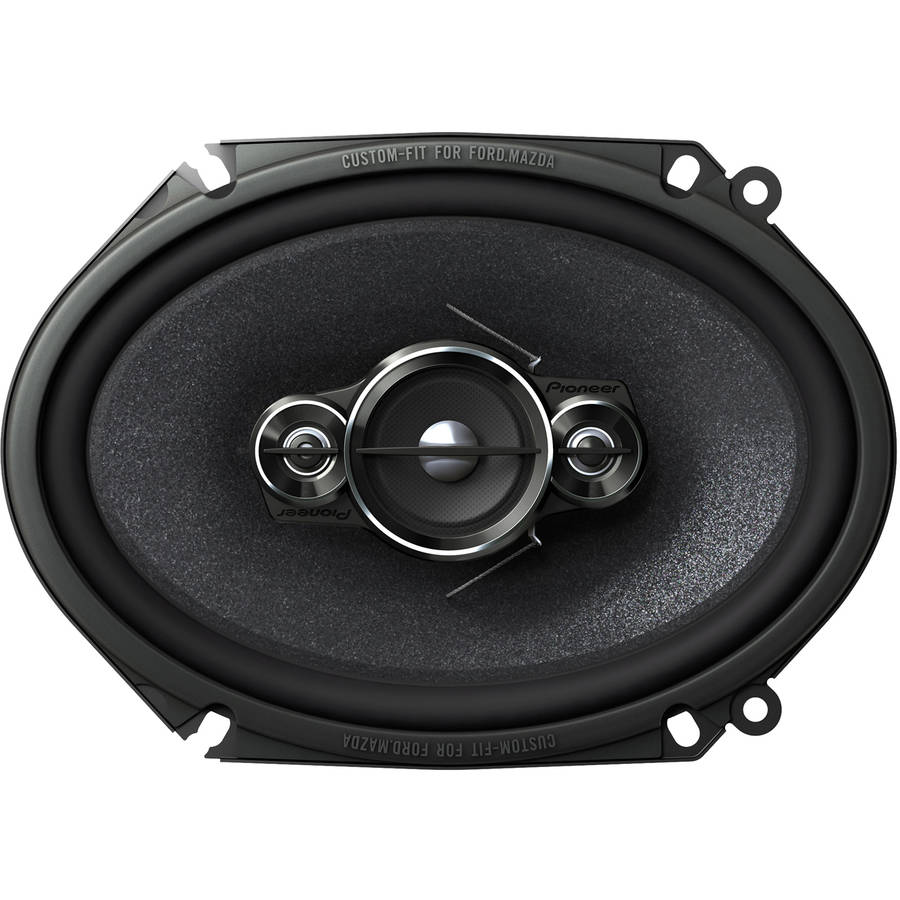 "Pioneer TS-A6886R 6"" x 8""/5"" x 7"" 4-Way Full Range Car Speaker"
