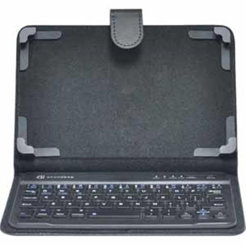 Gear Head KB7000UNV 7 inch Tablet Folio Case With Wireless Keyboard - Black