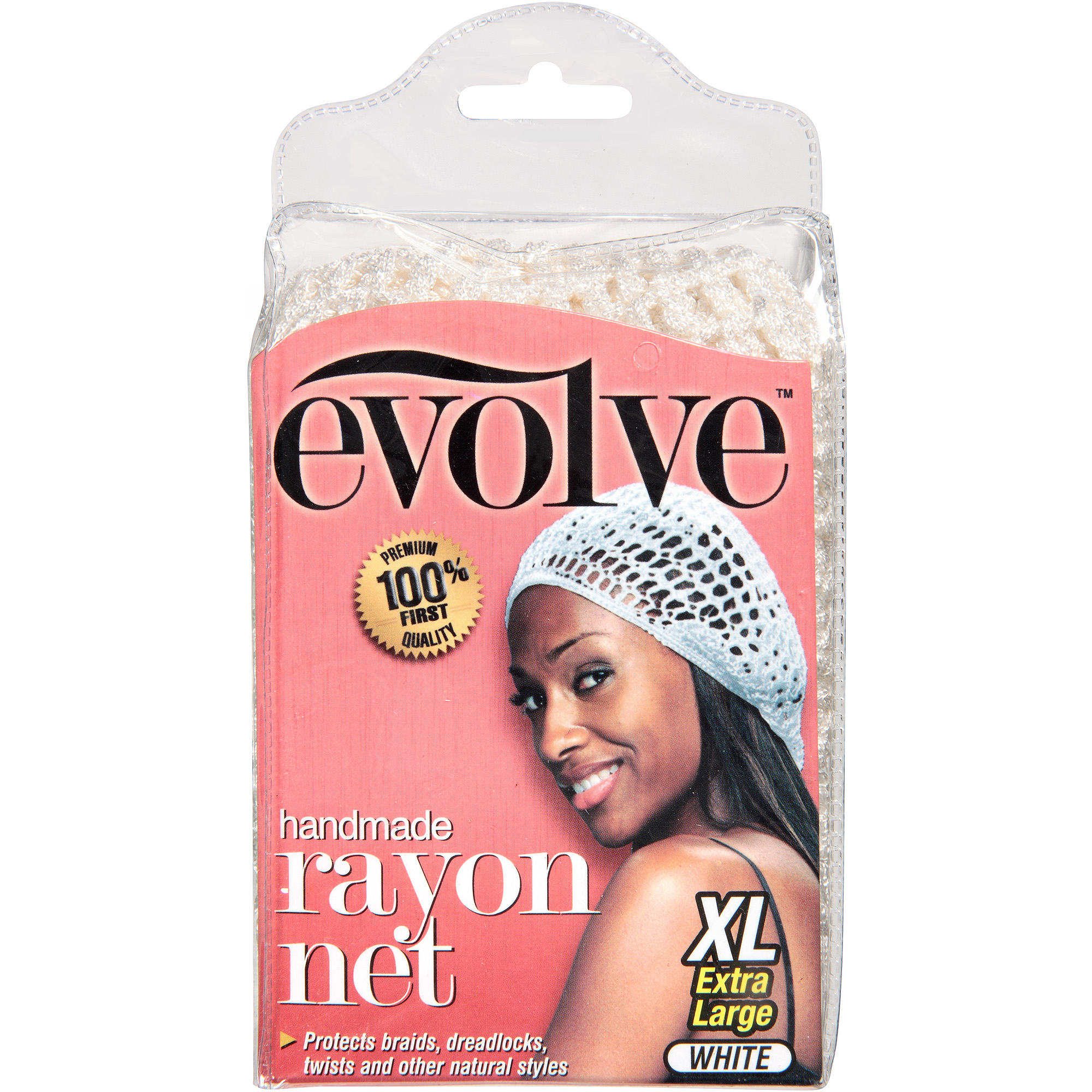 Evolve White XL Rayon Net