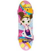 "17"" Titan Flower Princess Girls' Complete Skateboard, Pink"