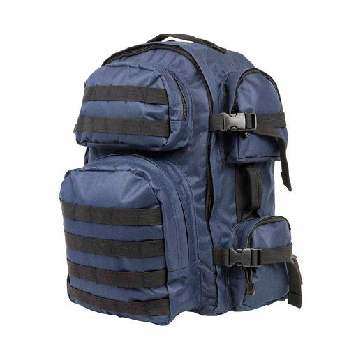 NcStar Tactical Backpack, Blue with Black Trim