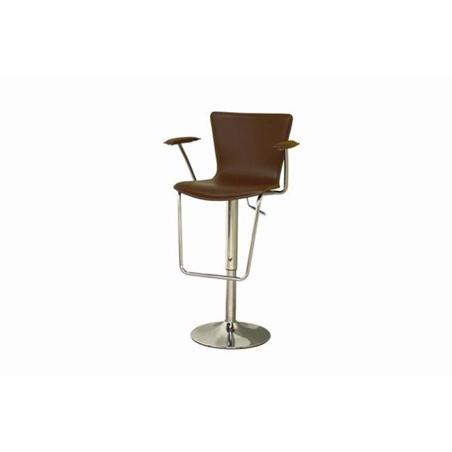 Tailored Imports High Stall Leather Bar Stool