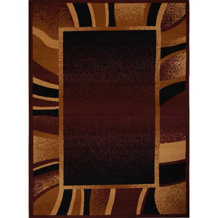 Home Dynamix Premium Collection Scatter Area Rug, Brown, 21""