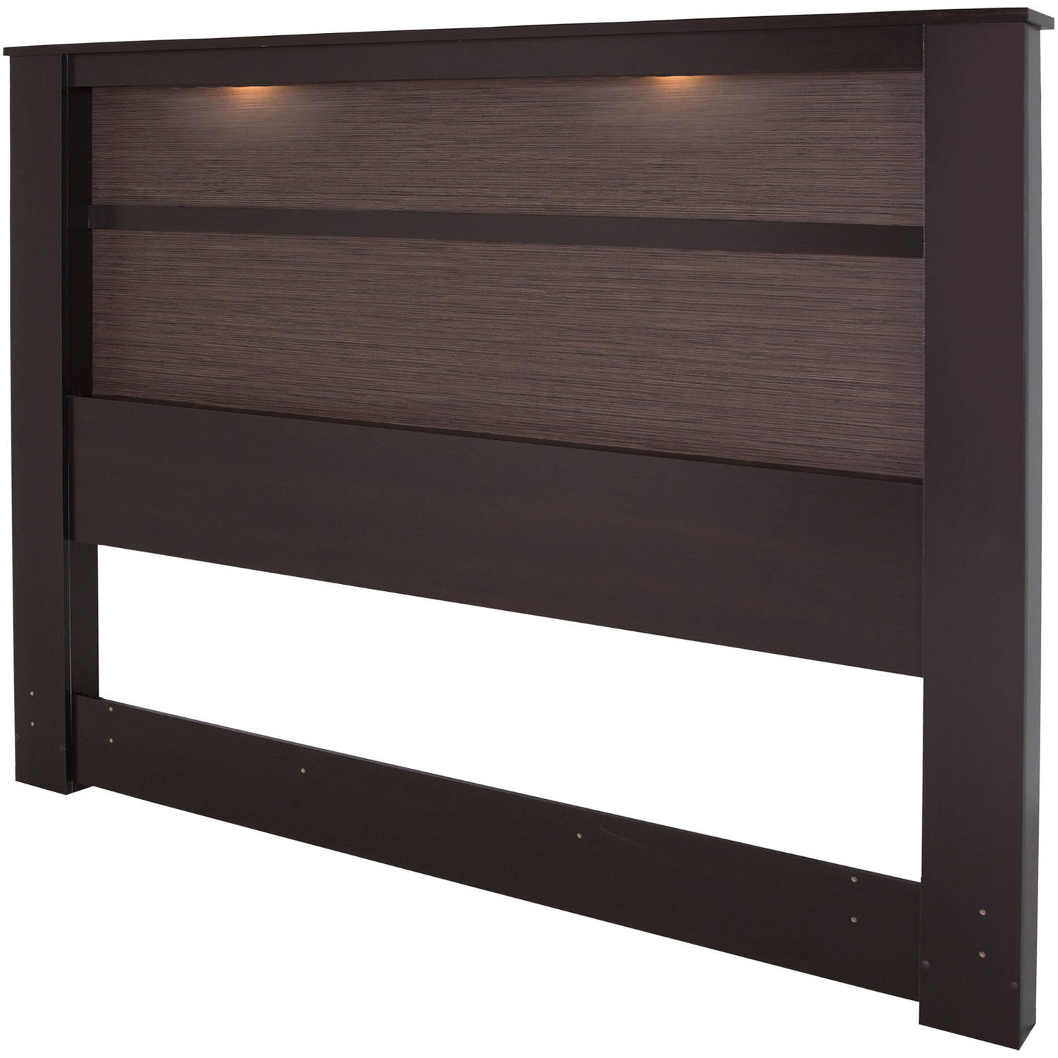 "South Shore Gloria King Headboard with Lights, 78"", Multiple Finishes"