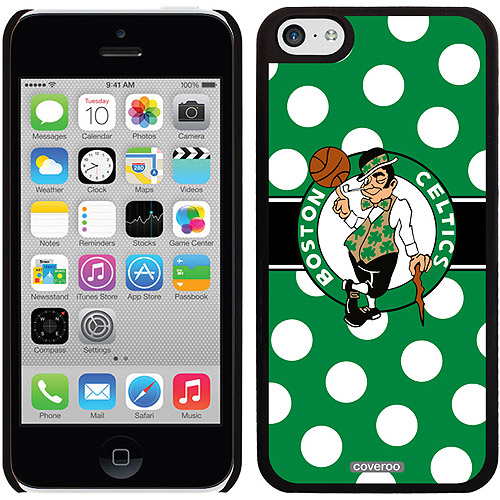 Boston Celtics Polka Dots Design on Apple iPhone 5c Thinshield Snap-On Case by Coveroo