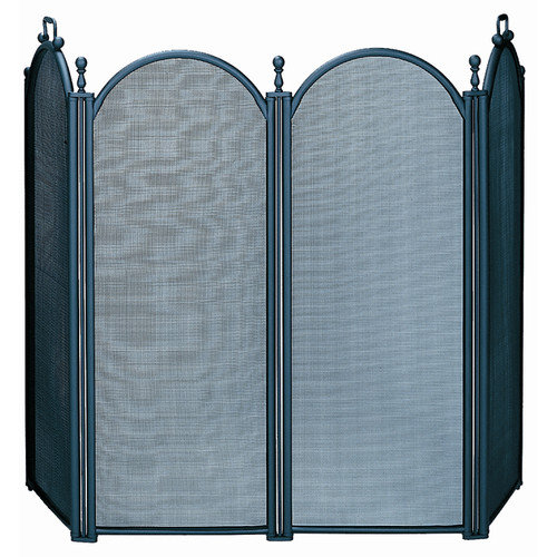 Uniflame Corporation 4 Panel Woven Mesh Fireplace Screen