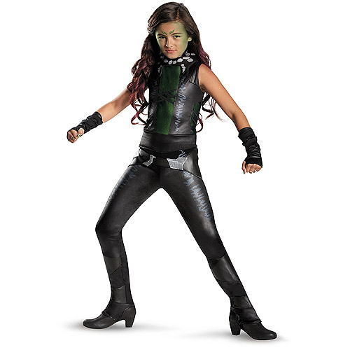 Guardians of the Galaxy Deluxe Gamora Child Dress Up / Role Play Costume