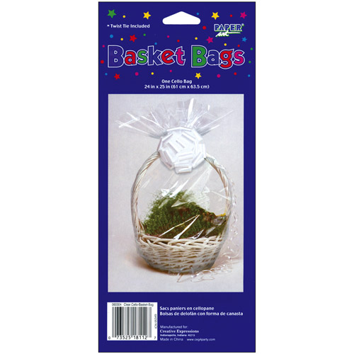 Large Easter Basket Cello Bag