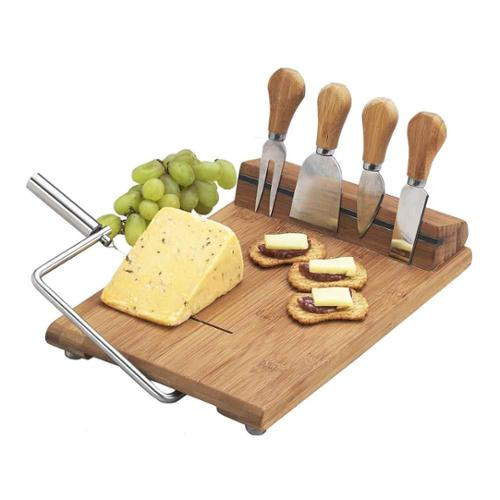 Silton Slicer Cheese Board Set
