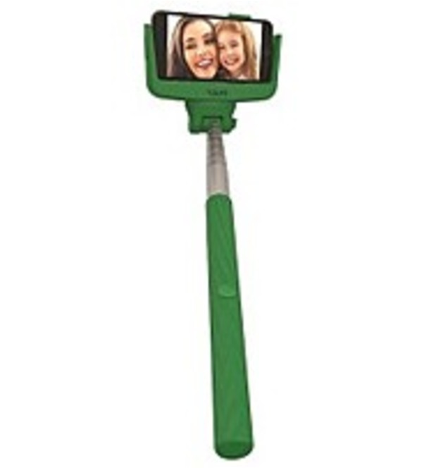 Tzumi 817243036815 3681 Selfie Stick - Green (Refurbished)