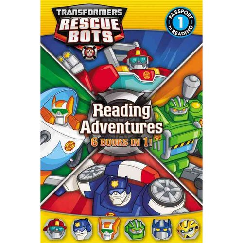 Transformers Rescue Bots Reading Adventures