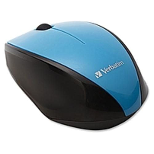 Verbatim Wireless Notebook Multi-Trac Blue LED Mouse - Blue - (Refurbished)