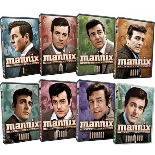 Mannix: The Complete Series (Full Frame)