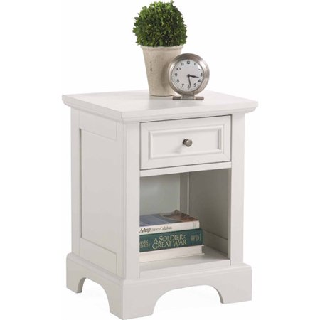 Home Styles Naples Nightstand White