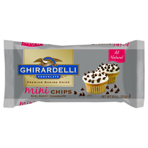 Ghirardelli Semi Sweet Mini Chocolate Baking Chips, 10 oz