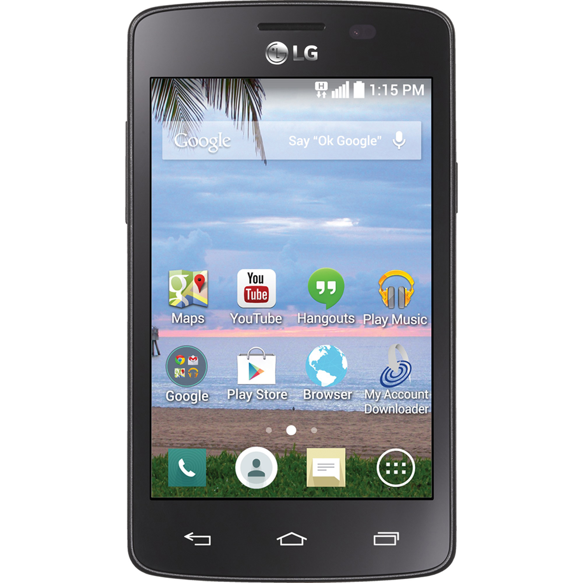 Straight Talk LG Sunrise Android Prepaid Smartphone