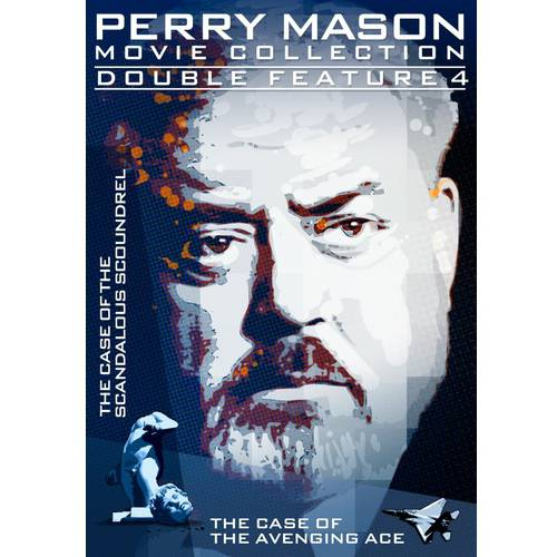 PERRY MASON-DOUBLE FEATURE-CASE OF SCANDALOUS SCOUNDREL/AVENGING ACE(DVD)