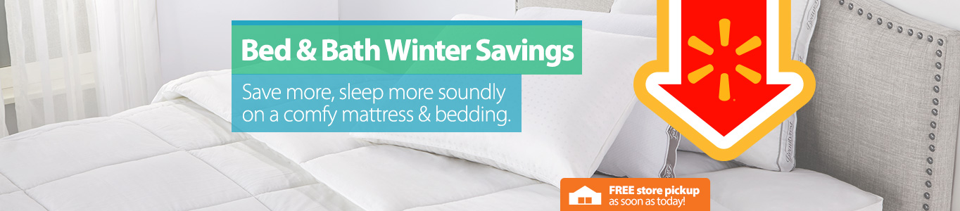 Bed & Bath Winter Savings