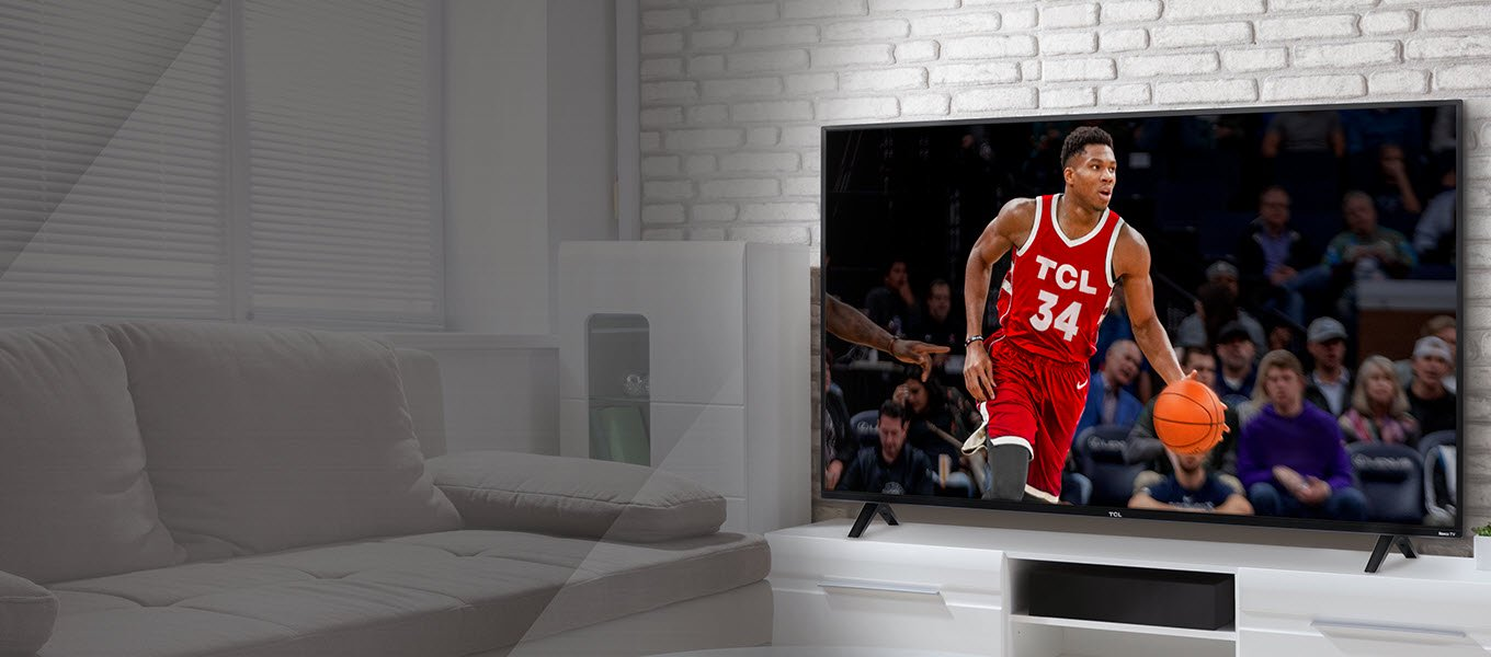 Big games. Big TVs. Watch & enjoy more of the madness with a TCL TV. Shop now.