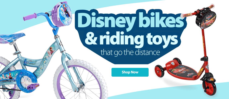Disney Bikes & Riding Toys