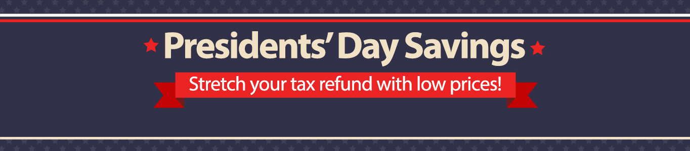 Tax Refund President's Day
