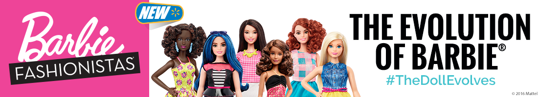 Barbie Fashionista Shelf Header