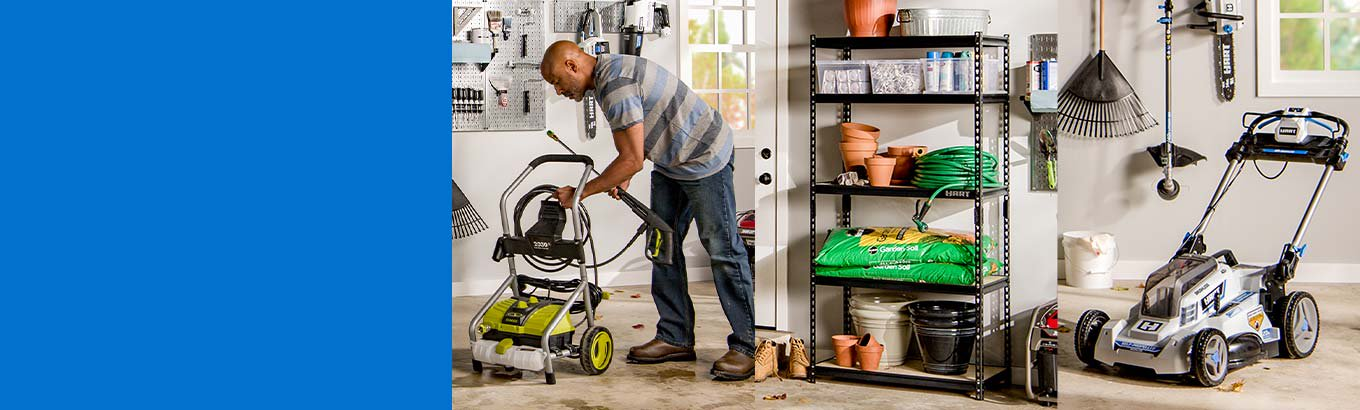 Garage fix-ups from $20. Get equipment, storage, and more for less. Shop now.