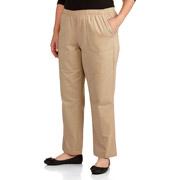 George Easy Wear Collection Women's Plus-Size Wrap Dress: Women's