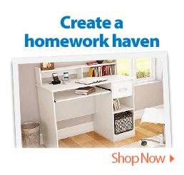 Create a homework haven.