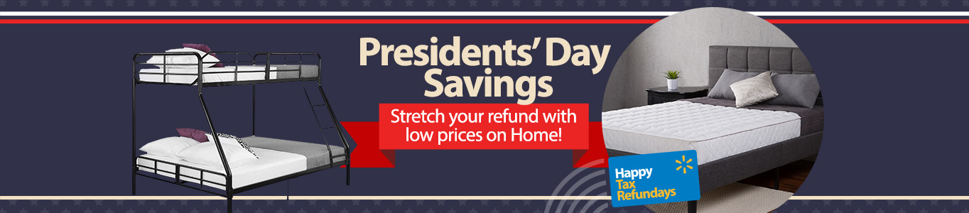 Stretch your refund with low prices in Home