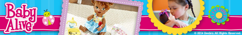 Shelf Banner - Baby Alive (Toys) 11.29.14