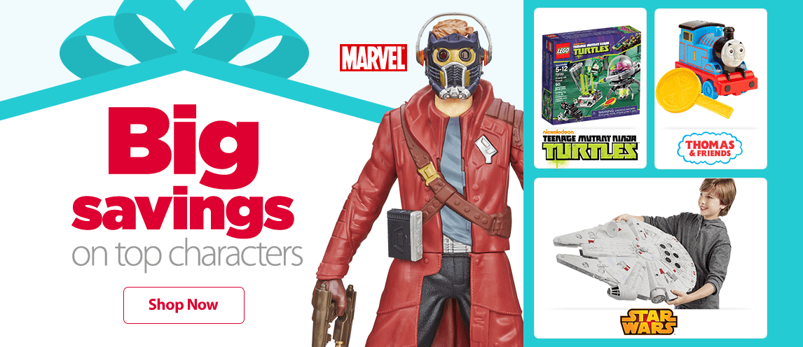 Walmart Toys For Boys : Top characters
