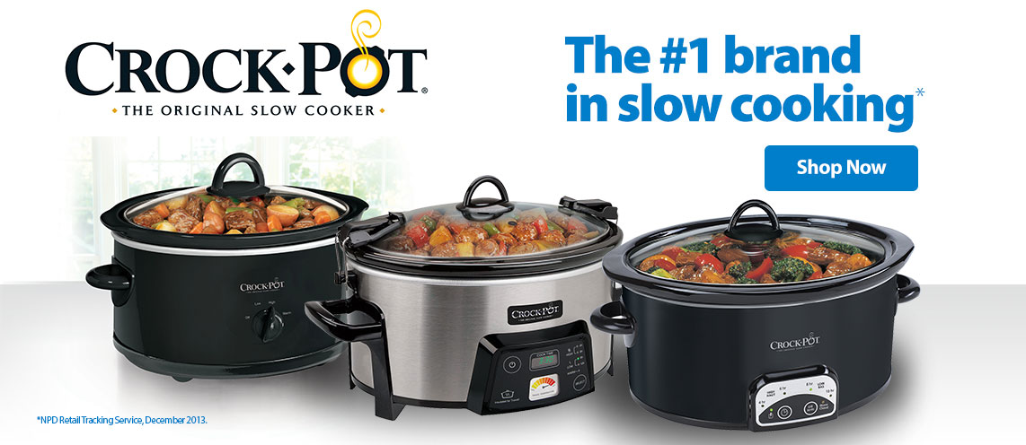 The #1 brand in slow cooking.