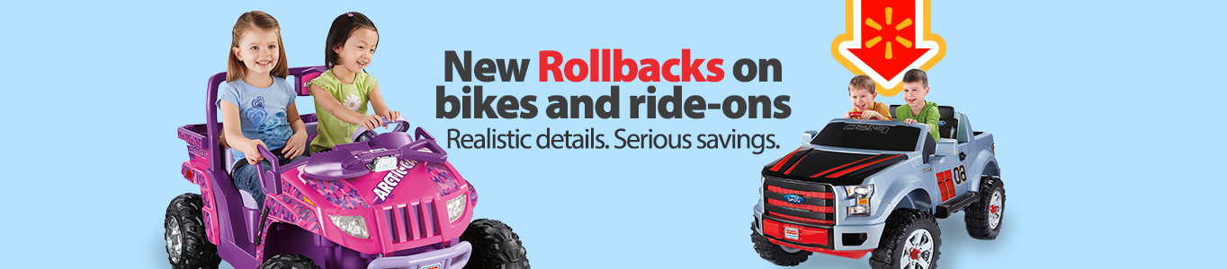 Ride On Rollbacks